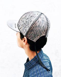 1-PARROT leather hat